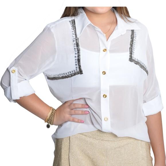 Camisa Monalisa de R$319,60 por R$223,70