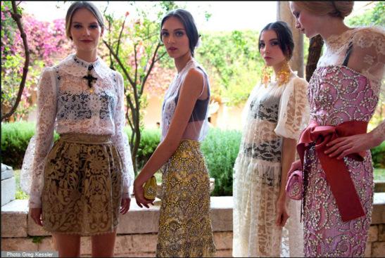 Dolce&Gabbana Alta Moda Outono/Inverno 2012 - Reprodução.