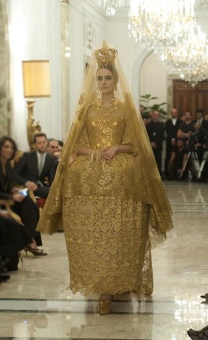 Dolce&Gabbana Alta Moda Primavera/Verão 2013 - Reprodução.