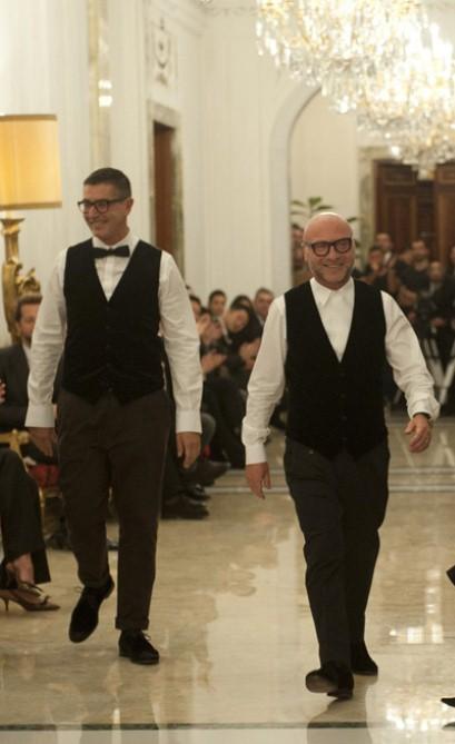 Domenico Dolce e Stefano Gabbana - Dolce&Gabbana Alta Moda Primavera/Verão 2013 - Reprodução.