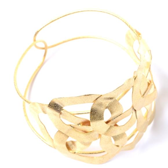 Bracelete banhado em ouro amarelo de R$154.00 por R$123.20