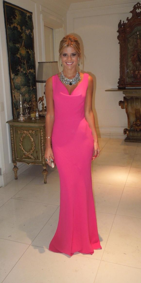 O vestido que tirou o fôlego de muitas!
