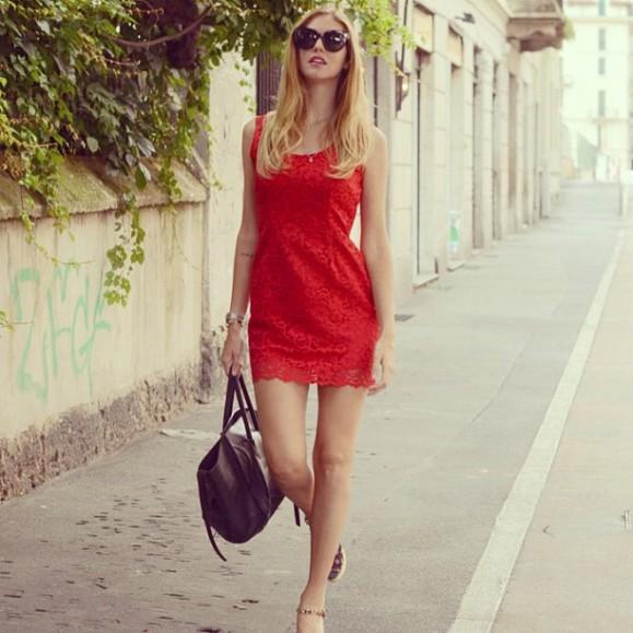 Chiara Ferragni do blog The Blonde Salad - reprodução.
