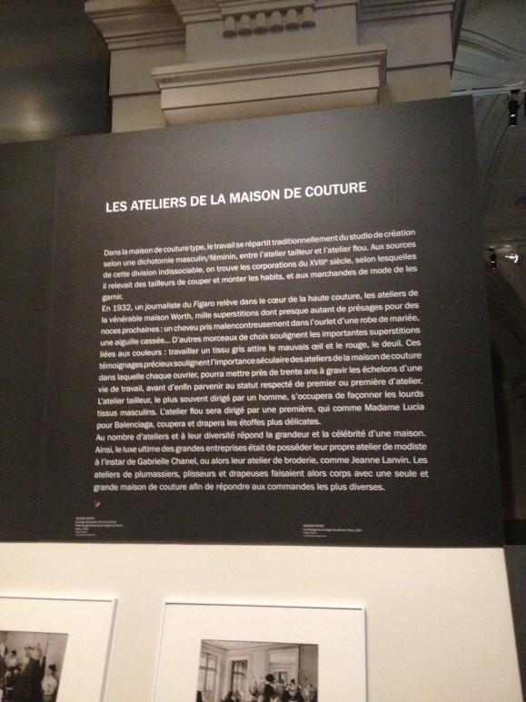 A primeira parte da exposição é basicamente a criação e desenvolvimento das peças