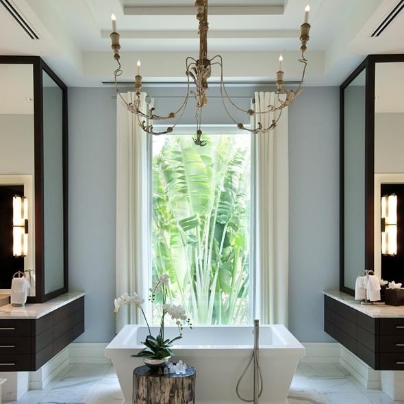 banheiros  TrittMe -> Lustre Banheiro Moderno
